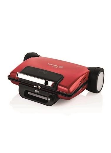 Korkmaz Tostema Kırmızı Maxi Tost Makinesi Kırmızı